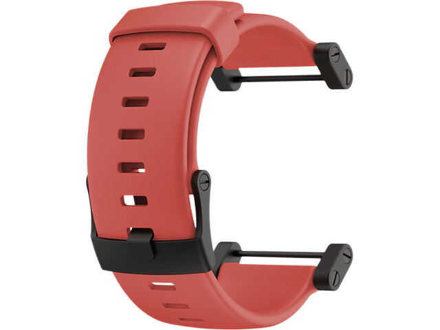 Suunto Core Platte siliconen Horlogeband, crush coral